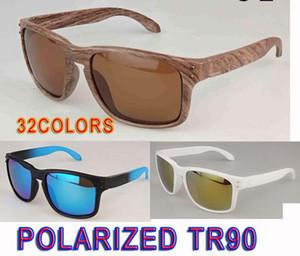 رجل الصيف العلامة التجارية النظارات الشمسية المستقطبة TR90 مادة الرياح نظارات المرأة في الهواء الطلق رياضة الدراجات نظارات القيادة الزجاج 32 الألوان الشحن المجاني