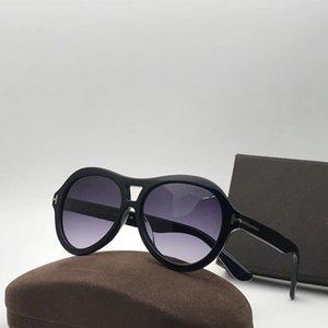 Neue Art und Weise 195 Männer Sonnenbrille einfache populären Frauen-Sonnenbrille Sonnenbrille der Männer im Freien im Sommer Schutz uv400 Großhandel Brillen mit Fall