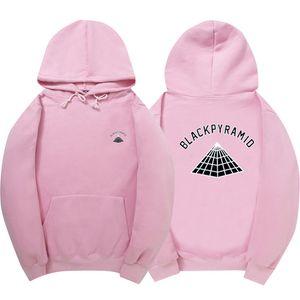 Wholesale- Mode BLACK PYRAMID Hip Hop Hoodies Männer Chris Brown Street Art-langärmliges Sweatshirt Purpose-Tour Hoody