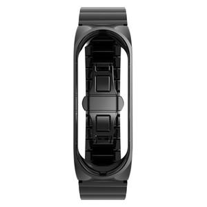 Bracelet de montre de bracelet de montre de bracelet en acier inoxydable de luxe de mode pour XiaoMi Mi Band 3 bracelet de Mi Band 3 Strap