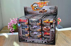 KB Hot Wheels Diecast alliage Voiture de Sport, 1:64 Mini Pocket Toy, camion militaire, Hélicoptère, Pompier, Noël Enfant Cadeau d'anniversaire, 01-2