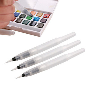 Different Size Refillable Pens Color Pencils Ink Pen Ink Soft Watercolor Brush Paint Brush Painting Art Supplies
