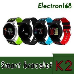 K2 스마트 팔찌 피트니스 트래커 밴드 혈압 심장 박동 모니터 혈액 산소 IP68 방수 OLED 컬러 스포츠 Smartband Watch