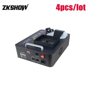 80% Discount 1500W LED Smoke Fog Machine 24PCS RGB DMX DJ Disco Party Wedding Stage Effect Projector 2320V 2.5L Capacity Free Shipping
