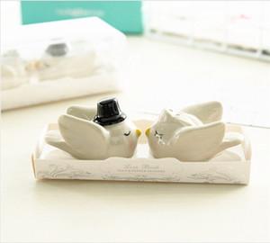 Свадебная церемония птица соль и перец шейкер личность жених невесты приправы бутылка приправы горшок 3 8zl ggkk