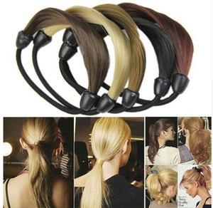 Fashion Korean Wig Hair Ponytail Holders Plaits Hair Twist Rubber Band Headband
