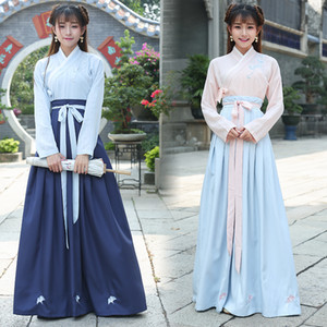 Nouvelle arrivée Hanfu National Costume Antique chinois traditionnel Cosplay Vêtements de danse folklorique chinoise Lady Tang Dynasty Stage Dress