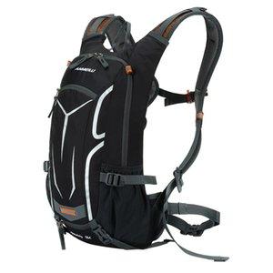 Mountainbike-Tasche Trinkrucksack Wasserrucksack Radfahren Fahrrad / Wandern Klettern Beutel + Regenschutz Set