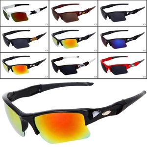 جديد نظارات الرجال أزياء الرجال دراجة نظارات الشمس نظارات الرياضة القيادة نظارات شمسية الدراجات 9 ألوان نوعية جيدة 9009 dhl مجانا