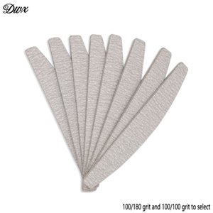 50 шт./лот маникюр шлифовальный пилочка буферы 100/180 серый наждачная бумага ногтей инструменты файл 100/100 пластиковые наждачные доски lixa де Унха
