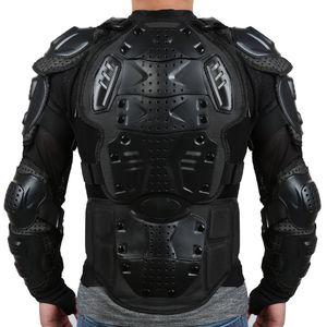 Liplasting Motorrad-voller Körper-Rüstungs-Hemd-Jacken-rückseitige Schulter schützen Gang S-XXXL Schwarz-Rot freies Verschiffen