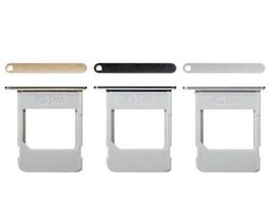 جديد استبدال الاصلي واحدة النسخة SIM بطاقة صينية فتحة حامل لسامسونج غالاكسي ملاحظة 5 N920 الذهب الأسود سيلفي