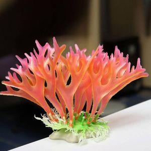 poissons aquarium décorations non toxique décoratif mauvaises herbes artificielles eau ornement plante poisson réservoir aquarium plantes herbe accessoires