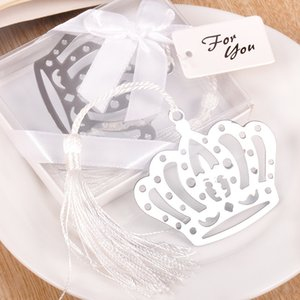 5pcs Creative Stainless steel imperial crown bookmark for return presents,Wedding gifts,Small prizes,Promotional items wholesale