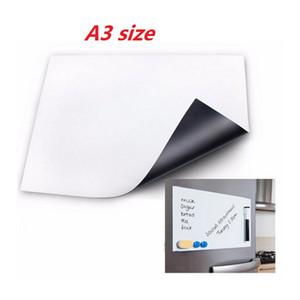 1 шт 30X42 см A3 размер гибкий магнитный холодильник доска сухой стереть Магнит напоминание домашнего офиса доска