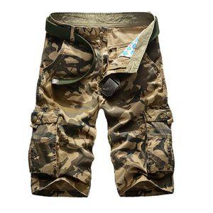 Hot Sale 2018 dos homens camuflagem Shorts Homens Plus Size Millitary Mens Exército shorts soltos Casual Homens de carga Homme