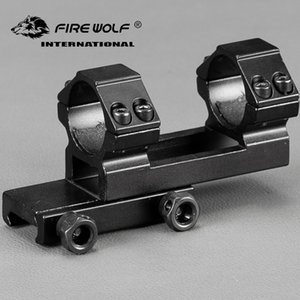 25,4mm Offset 20mm Picatinny Weaver Ringe Montieren Bi-direction Dia Jagd Tactical Zielfernrohr Montiert Zubehör