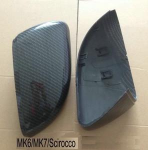 Kibowear per VW Golf 6 R GTI 7 GTD Coperchi per specchietti laterali laterali Cappucci Scirocco (modelli in carbonio) Passat B7 MK6 MK7 RLINE