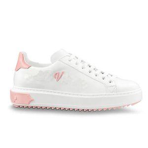 Zaman aşımı Sneakers Kadınlar Lüks Ayakkabı Hakiki Deri Tasarımcı Ayakkabı Hakiki Deri Kadın Rahat Ayakkabılar Boyutu 35-40 Model HY01