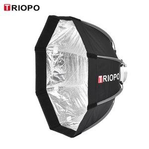 Großhandel 65 cm Portable Faltbare 8-poligen Octagon Softbox w / Tragetasche Bowens Mount Light Box Zelt für Studio Strobe Blitzlicht