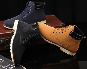 2018 año Nuevas botas de invierno, botas Martin, trajes al aire libre de los hombres, botas, botas al por mayor para los zapatos de los hombres.