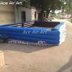 Gran campo de billar inflable con envío gratuito billar inflable piscina de billar, bola de billar billar inflable