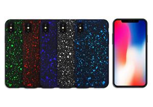 Star Coating Anti-Klopf-Sternenhimmel bereifte harte PC Rückseite Fall für iPhone 11 Pro X XS Max XR 8 7 6 5 6S SE 2020