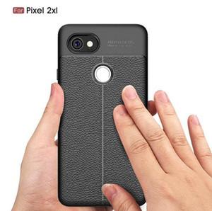 Estuche de lujo para Google Pixel 2 Google Pixel 3XL 2XL Estuche de cuero de lujo TPU con silicona para Google Pixel 3a 3a XL Cubiertas de teléfonos celulares