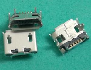 mini puerto de carga Micro USB jack conector socket socket power Para Blackberry 8520 para Lenovo IdeaTab A2109 U018