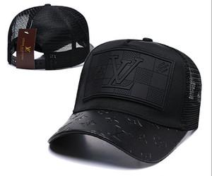 Chapéus De Beisebol De Couro de moda Novo Golfe de luxo Cap casquette Cap Camionista De Luxo Mens Bola Caps Designer Headwear Ao Ar Livre Chapéu de Arranque de Arranque