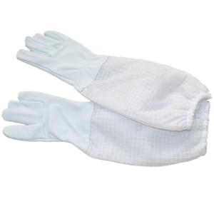 2 пары полностью вентилируемые перчатки пчеловодства для бесплатной доставки