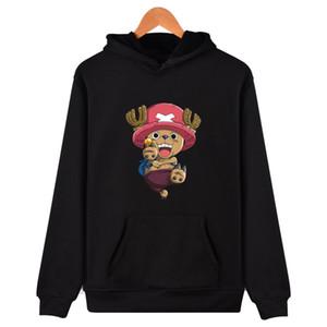 Frdum  Chopper long Sleeve trend cartoon hoodie winner one piece Fashion