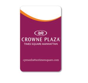 HF 13.56MHz Printed PVC Hotel Key Card with MF Ultralight EV1 Chip