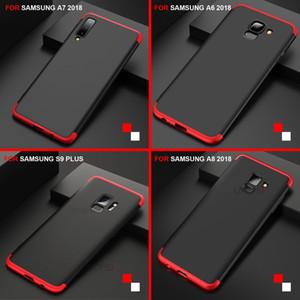 360 Etui de protection pour Samsung Note 9 A7 2018 Coque Pour Galaxy S9 S8 A6 A8 Plus Note 8 J4 J6 Prime
