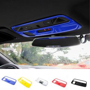 ABS lectura de la azotea de luz de lámpara cubierta decoración Accesorios para Chevrolet Camaro 2017 Hasta coche que labra los accesorios interiores