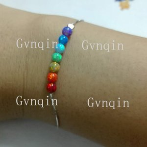 Free Shipping Wholesale round synthetic opal bracelet fashion jewelry