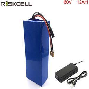 Sin impuestos Recién llegado 60v li ion batería 60v 12ah batería 1000w bafang kit de bicicleta eléctrica con bms y cargador