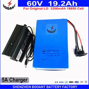 60V 19.2 AH используют Высокомарочную первоначально батарею Li-Иона E-велосипеда клетки LG 18650 для таможен EU мотора Bafang BBS 2400W США свободных