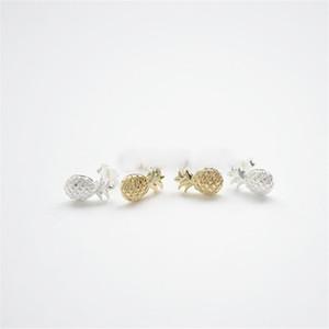 Orecchini moda ananas bello orecchini ananas piccolo bella orecchini frutta tridimensionale per le donne