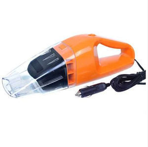 سيارة مكنسة كهربائية الرطب والجاف ذات الاستخدام المزدوج سوبر شفط 5 متر 12 فولت ، 100 واط مكنسة كهربائية البرتقال