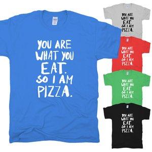 Eres lo que comes Pizza Divertida resaca impresionante La legendaria camiseta HIMYM S-XXL