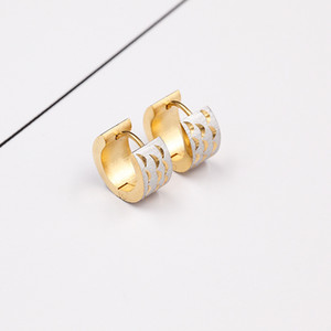 Ohrclips aus Edelstahl, europäische und amerikanische Mode Männer und Frauen Titan Ohr Ohr piercing Ohrringe