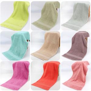 Baumwolle handtücher super weich stark saugfähigen towel männer frauen kind bad gesicht handtücher home hotel liefert 17 farbe wx9-1059