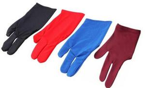 Бесплатная доставка прочный 3 пальцы перчатки для бильярда бассейн снукер Cue Shooter