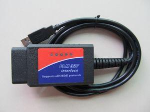 elm 327 v1.5 usb OBDII EOBD Logiciel CANBUS Scanner Automobile Outil d'analyse OBD2 ELM 327 V 1.5 USB