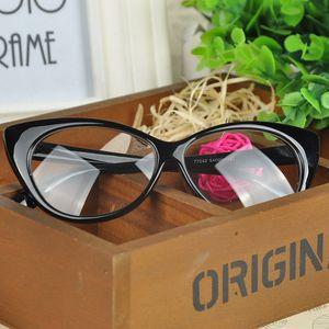 Fashion choCat's Eye glasses frames shape Plain glass spectacles women eyeglasses frames decorations optical FYHM458Y5