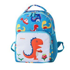 Sacchetto di scuola per bambini Neonate Cute Cartoon Dinosaur Stampa Zaino per animali Toddler School s Bambini Kindergarten Bookbags