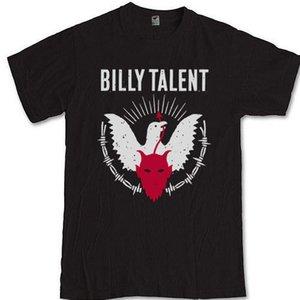 BILLY TALENT 캐나다 멜로디 펑크 록 밴드 Tees S M L XL 2XL 3XL T 셔츠