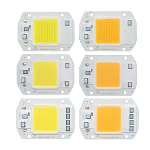 5pcs / lot LED COB circuito integrato 20W 30W 50W 220V input del guidatore luce Beads intelligente IC per DIY proiettore esterno lampione lampada da miniera