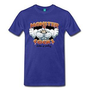 Hat Films Monster Cocks Réduction en gros pour hommes T-shirt de mode T-shirt de marque Marque Vêtements Tops Hipster Fashion 100% coton Mode T-shirts